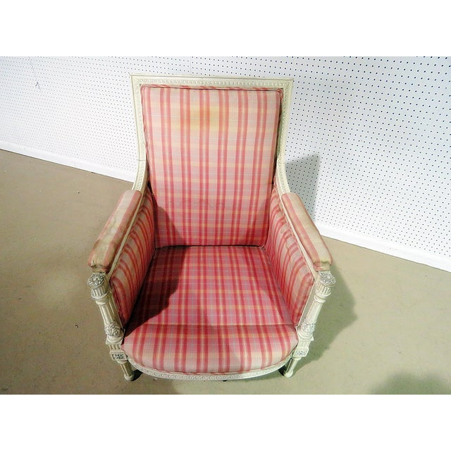 Swedish Style Bergere For Sale - Image 9 of 13