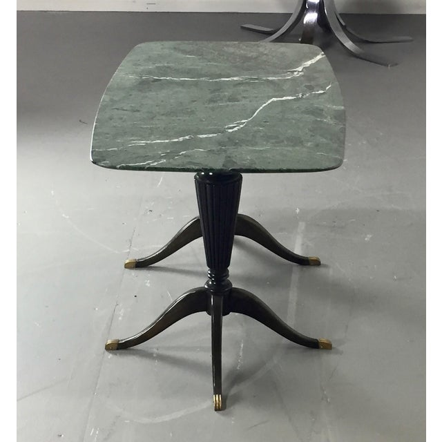 Cassina Paolo Buffa for Fratelli Cassina Marble Top Low Table For Sale - Image 4 of 9