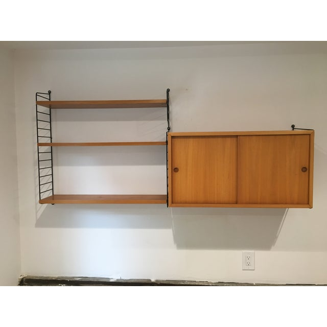 String Shelves and Cabinet by Nisse Strinning - Image 2 of 11