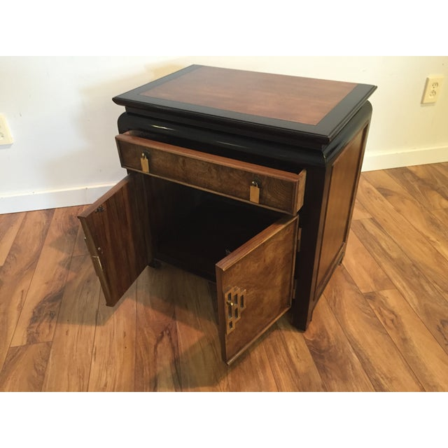 Century Furniture Sale: Century Furniture Chin Hua Burl Nightstand