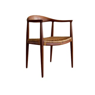 """Kennedy"" Teak Chair by Hans Wegner for Johannes Hansen For Sale"