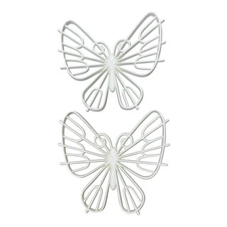 Burwood Decorative Butterflies - A Pair For Sale