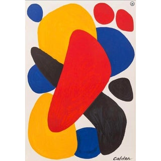 "Calder ""Boomerang"" Lithograph Art Print For Sale"