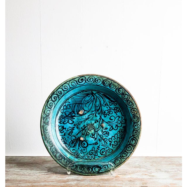 Kushan Turquoise Plate For Sale - Image 10 of 10