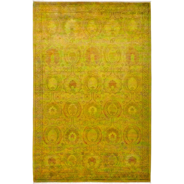 """Vibrance Hand Knotted Area Rug - 6' 1"""" X 9' 3"""" - Image 4 of 4"""