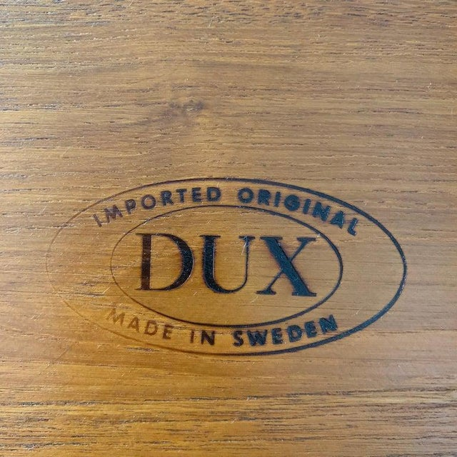 Brown Teak Side Table by Tove and Edvard Kindt-Larsen for Dux For Sale - Image 8 of 9