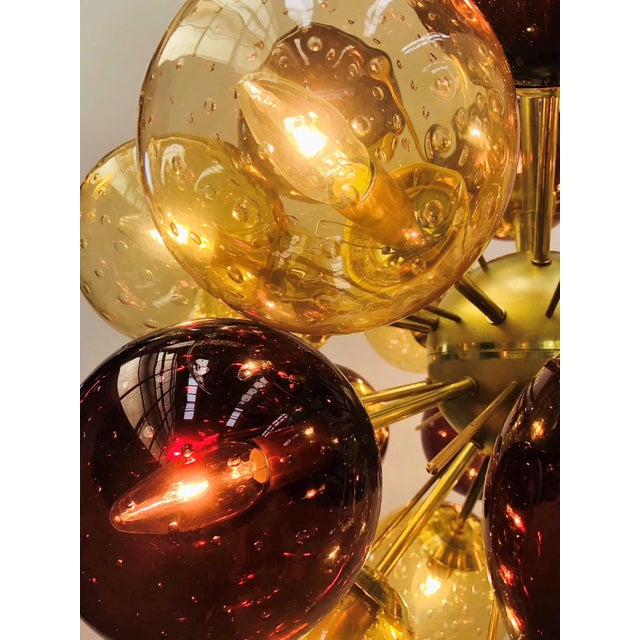 Fabio Ltd Ventiquattro Sputnik Chandelier by Fabio Ltd For Sale - Image 4 of 9