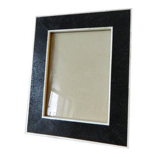 Bone Inlay & Shagreen Picture Frame