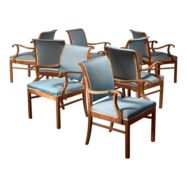 Fritz Hansen Set of 20 Conference Chairs, Denmark, 1940 For Sale