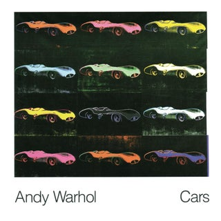 Formula 1 Car W 196 R (1954) Poster by Andy Warhol For Sale