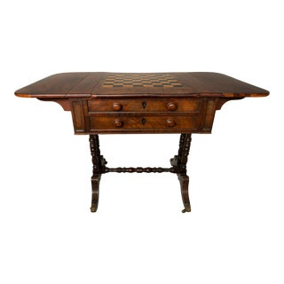 Circa 1810 Continental Regency Game Table For Sale