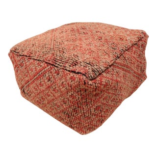 Moroccan Boujad Footstool Pouf Cover For Sale