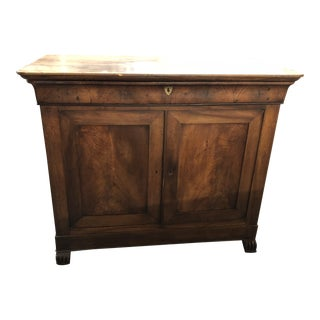 18th C. French Empire Walnut Buffet