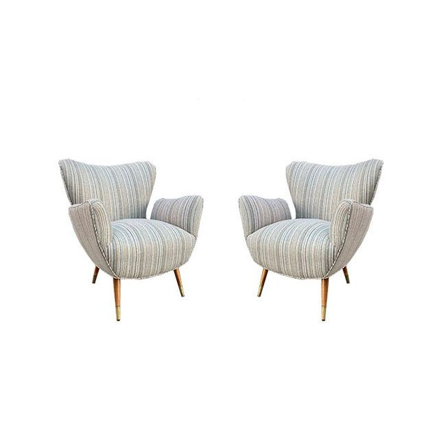 Tan Pair of Butterfly Chairs For Sale - Image 8 of 8