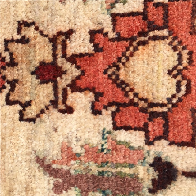 Sultanabad Persian Rug - 1′4″ × 1′11″ - Image 8 of 10