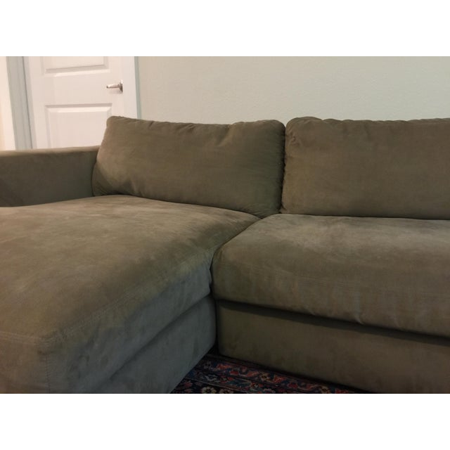 Design Within Reach Reid Sectional Chaise For Sale - Image 9 of 10