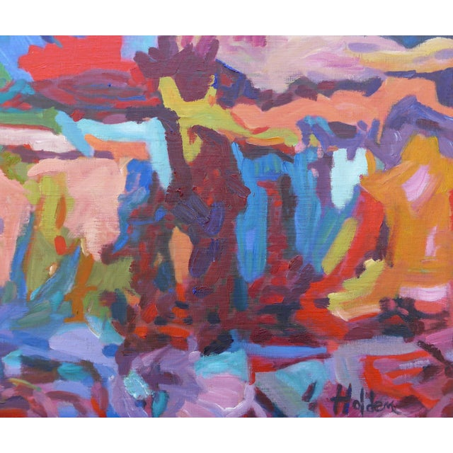 Monumental Abstract House Painting - Image 3 of 7