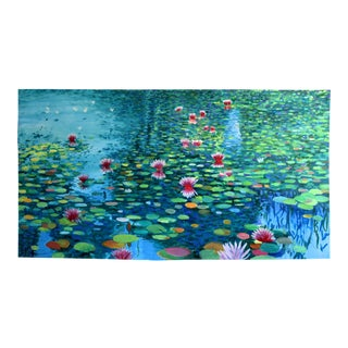 """""""Waterscape Panorama"""" Acrylic Painting"""