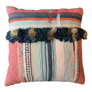 Boho Chic Colorful Decorative Pillow For Sale