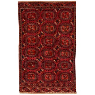 Antique 19th Century Tekke Rug For Sale