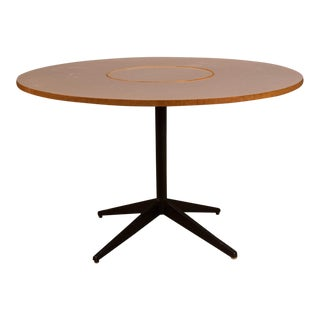 Mid-Century Modern George Nelson Lazy Susan Dining Table For Sale