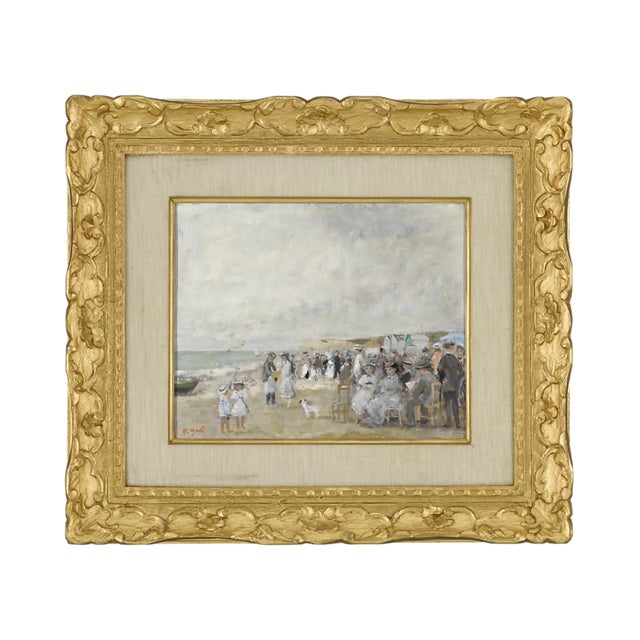 Deauville Seascape By François Gall For Sale - Image 5 of 5