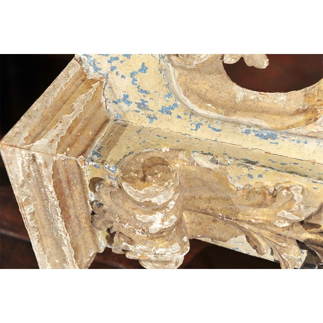 Wood French architectural carving For Sale - Image 7 of 7