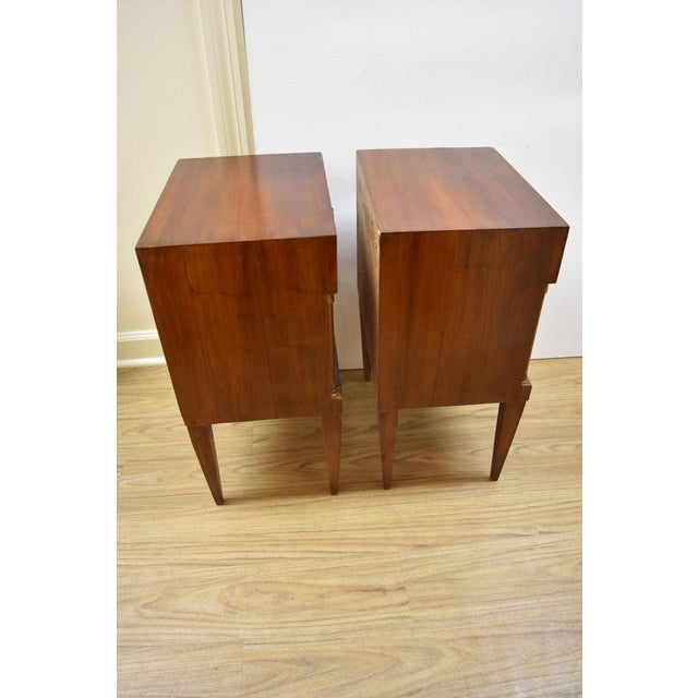 Pair of Vintage Italian Nightstands For Sale In Nashville - Image 6 of 10