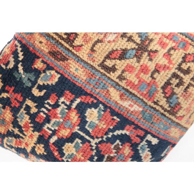 Antique Caucasian Rug Pillow For Sale - Image 5 of 9