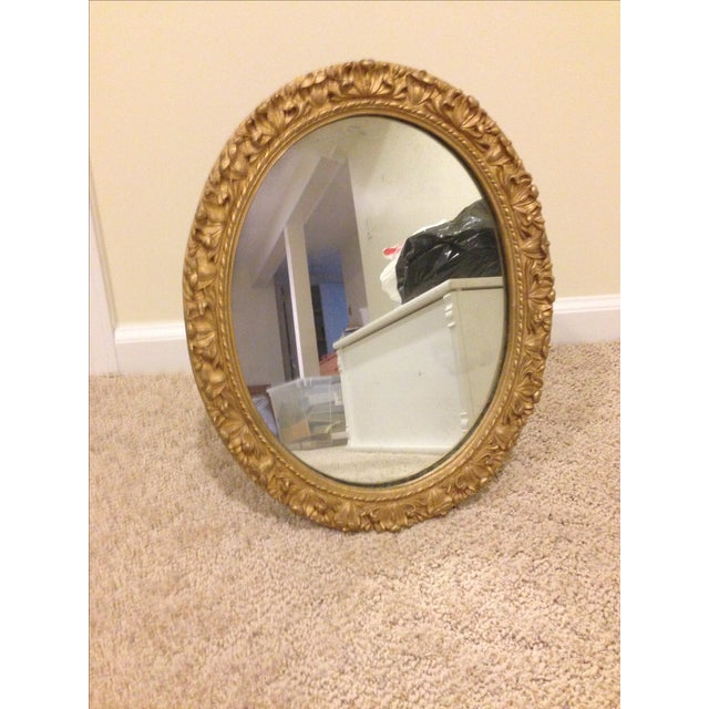 Gilded Oval Mirror - Image 4 of 4