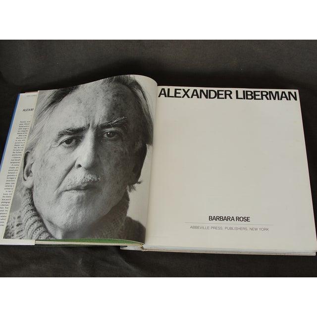 """Alexander Liberman"" by Barbara Rose - Image 5 of 8"