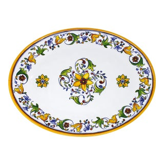 """Capri 16"""" Melamine Oval Platter, Set of 2 For Sale"""