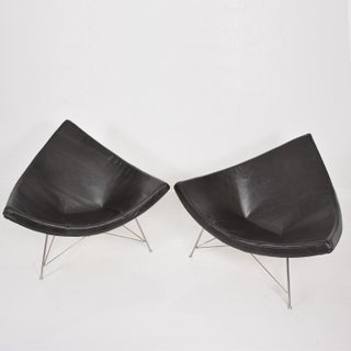 Early Coconut Lounge Chairs by George Nelson for Herman Miller Preview