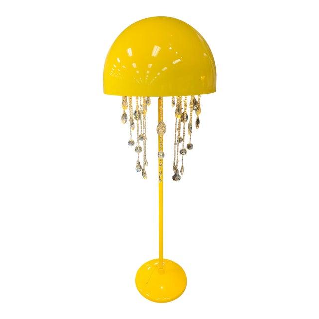 Yellow Lunar Floor Lamp For Sale