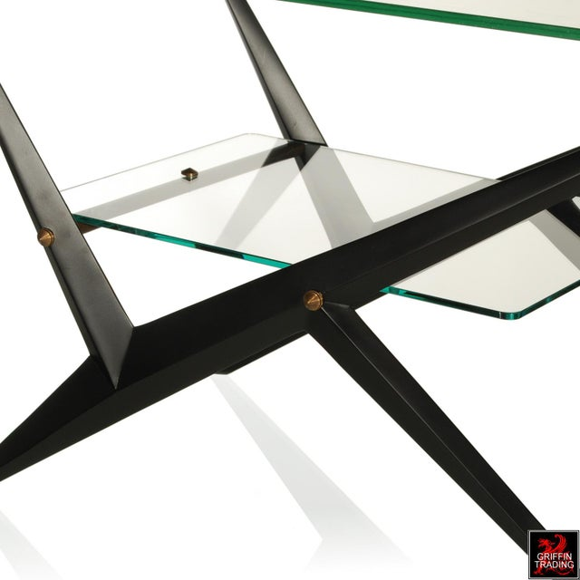 1950s Angelo Ostuni Side Table / End Table / Coffee Table For Sale - Image 5 of 7