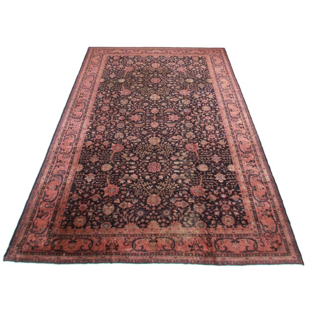 "RugsinDallas Turkish Sparta Wool Rug - 10'5"" X 17'5"" - Image 2 of 2"