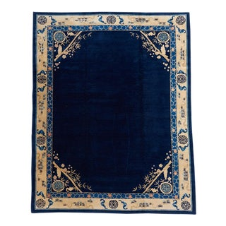 Blue Ground Peking Carpet For Sale