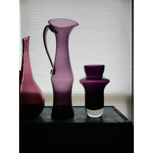 Waterford Marquis Modernist Purple Vase - Image 8 of 11