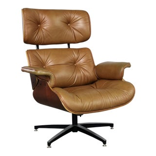 Mid Century Modern Lounge Chair Attributed to Selig Plycraft and in the Style of Eames For Sale