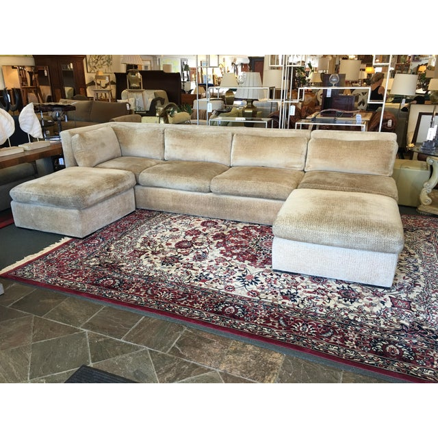 Kreiss 4-Piece Beige Sectional - Image 2 of 10
