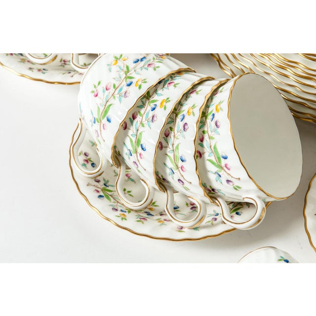 Minton English Full Service Dinnerware for 12 People - 84 Pc. Set For Sale - Image 10 of 13