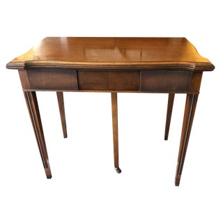 Extremely Elegant and Versatile Extendable Side or Dining Table For Sale