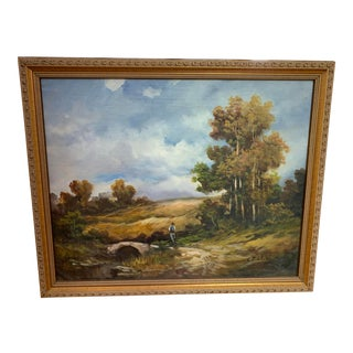 Italian Oil Painting For Sale