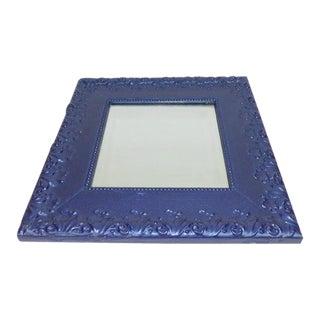 Vintage Amp Used Blue Mirrors Chairish