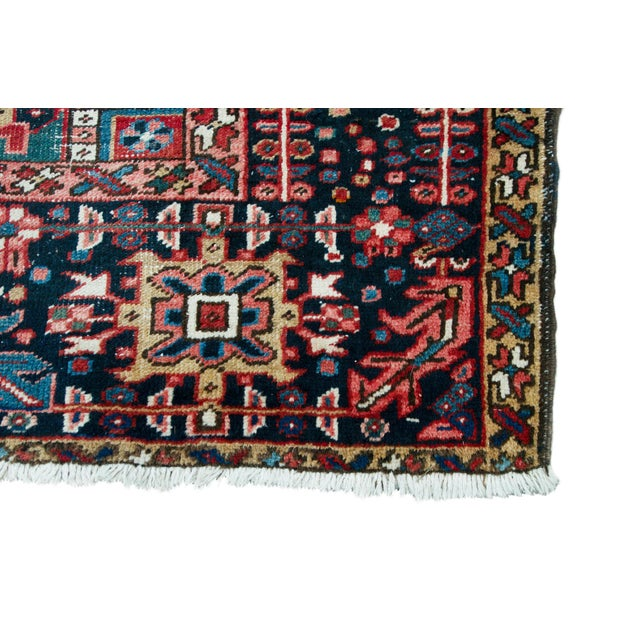 1920s Large Heriz Rug - 11′4″ × 14′1″ For Sale - Image 11 of 11