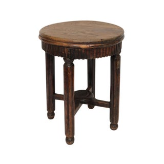 Early 20th Century Antique Chinese Wood Stool For Sale