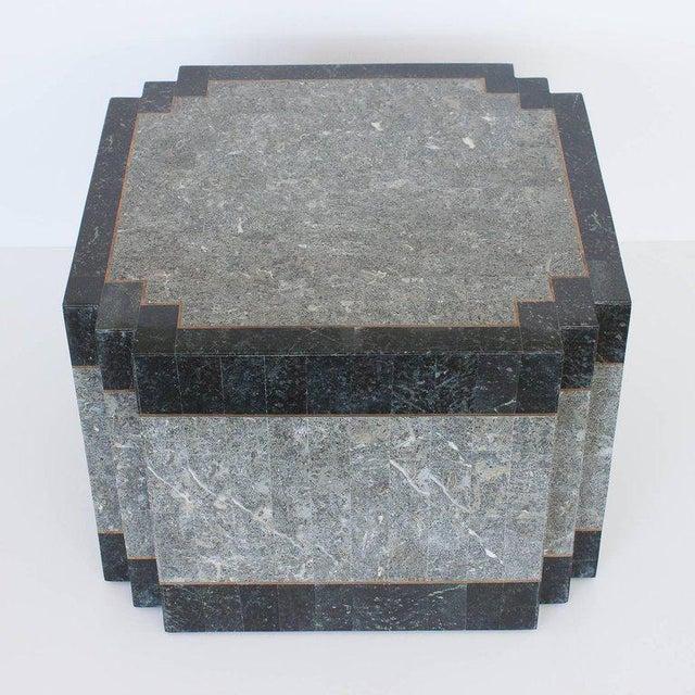 "Designer: Maitland Smith USA - Circa 1980s Dimensions: 16"" H x 22"" W x 22"" D Condition: Excellent vintage condition...."