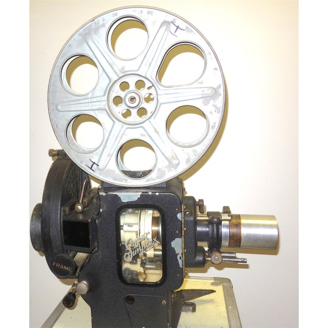 Motion Picture 35mm Theatre Projector 1922 Design, Complete Head Hollywood Relic For Sale - Image 11 of 11