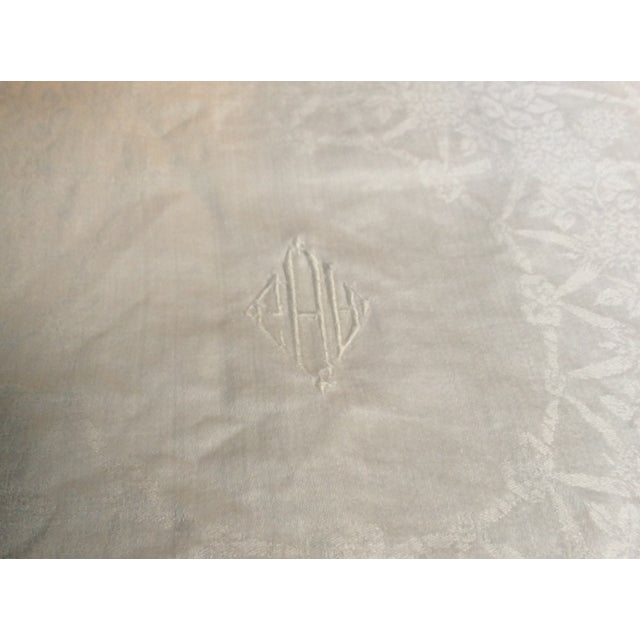 Antique French Linen Napkins - Set of 6 For Sale - Image 4 of 12