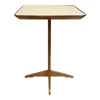 Modern Caracole Mirror Top Champagne Accent Table For Sale